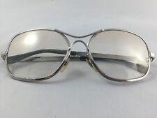 Eye Glasses Swank Frame Spain Metal Nicole Old Silver