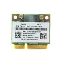 AR5B22 Half Mini PCIe 300Mbps+Bluetooth4.0 WLAN Wifi Card Wireless M2X3 D1N9
