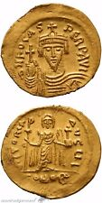 Byzantine Gold Solidus Coin Phocas Constantinople 602-110 Ad