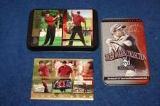 2001 UPPER DECK TIGER WOODS COLLECTION FACTORY TIN SET (SA415)