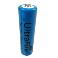 3.7V 18650 5000mah Li-ion Rechargeable Battery for Flashlight Headlamp Torch LED