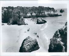 Rugged Algarve Coast Portugal Press Photo