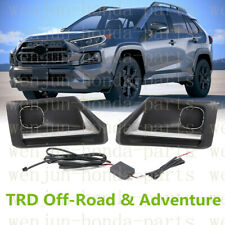 1 Pair Fog Lights (DRL)LED For Toyota RAV4 TRD Off-Road and Adventure 2019-2021