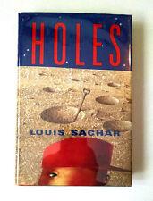 Louis Sachar, HOLES, Newbery Medal, National Book Award, 1st Print, HC/DJ, 1998