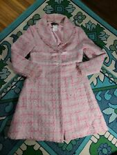 disorderly kids pink tweed jacket sz 7