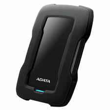 ADATA Durable Series HD330: 5TB Black External USB 3.1 Portable Hard Drive