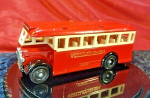1932 AEC Regal Westcliff-on-Sea Motor Services Ltd to Great Wakering Essex Gift