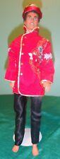 3 pc Red & Gold Oriental Set for Ken Barbie, GI Joe or BJD Doll KNOR02