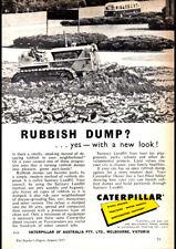 "1957 CATERPILLAR AD A4 POSTER GLOSS PRINT LAMINATED 11.7""x8.3"""