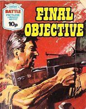 A Fleetway Battle Picture Library Pocket Comic Book Magazine #987 FINAL OBJECTIV