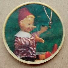 Russian USSR Pin Badge 3D cartoon hero Animation Buratino Pinocchio Golden key