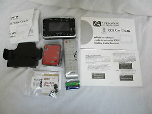 Audiovox XCS9 Combo Pack Car & Home XM Satellite Radio Receiver Bundle