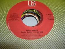 HEAR! Modern Soul 45 LEON WARE Baby Don't Stop Me on Elektra
