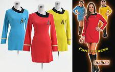 Star Trek Dress Costume Female Duty Uniform Multiple Colors Ver.A *Custom Made*
