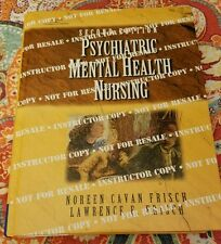 Psychiatric Instructor Copy Mental Health Nursing 2nd Edition Hard Back Frisch