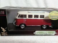 1962 Volkswagen Microbus - Red  diecast 1:18 scale in exc. condition, retired