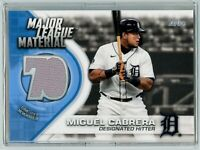 2021 Topps Baseball Major League Material MIGUEL CABRERA #MLM-MC (Tigers) Jersey