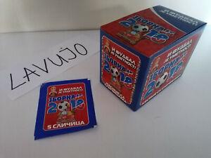 WC Russia ZBORNAJA 2018 - box 100 packs (500 stickers)