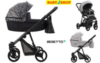 Stroller Bebetto Nitello 2in1 pram carrycot sport seat colours new