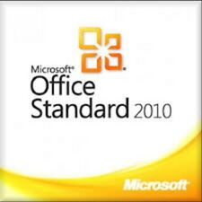 Microsoft Office 2010 Standard # 1PC # Produkt Key # ESD # 32&64 Bit