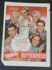 Original Print Ad 1948 CHESTERFIELD Cigarettes Always Buy Gregory Peck