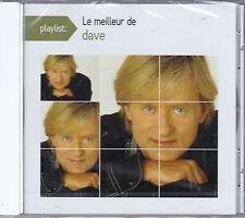 CD 15T PLAYLIST LE MEILLEUR DE DAVE BEST OF 2015 NEUF SCELLE
