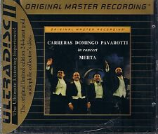 Carreras,Domingo,Pavarotti in Concert Mehta MFSL GOLD NEU OVP Sealed