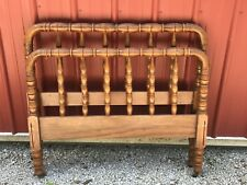 Antique Jenny Lind Spool Bed