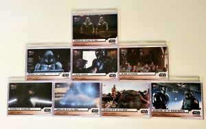 2020 Topps Star Wars The Mandalorian S2 Complete Sets Ch 9-16 Cara Dune Child