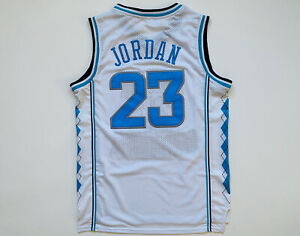 MICHAEL JORDAN #23 North Carolina Tar Heels JERSEY MEN SIZE S Small Free Ship
