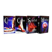Lunar Chronicles 4 Books Young Adult Collection Paperback Set By Marissa Meyer