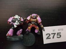 WARHAMMER 40K marines del chaos del rumore x2 (275)