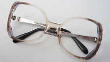 Skaga Vintage Glasses Ladies Kunststoff-Brillengestell Fancy Braun SIZE M