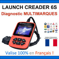 Valise Diagnostique Pro Multimarque En Français Obd Obd2 Diagnostic CRD6S