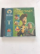 Disney's Buddy Songs Vol 1 CD Tested- Rare- Vintage- Collectible Ships N 24hrs