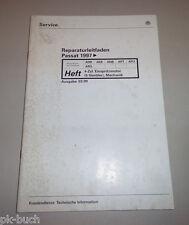 Werkstatthandbuch VW Passat 4 Zylinder Einspritz Motor 5 Vent. Mechanik 03/1999