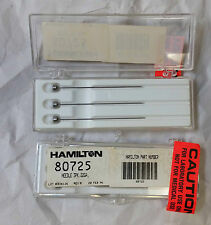 HAMILTON 22GA SYRINGE NEEDLE BEVELED USE 80725 GASTIGHT Multifiber Lot of 3