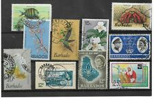 BARBADOS:  10 MIXED STAMPS