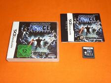 Nintendo DS Spiel : Star Wars The Force Unleashed