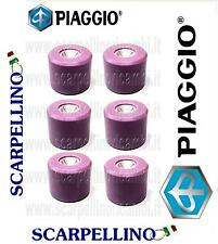 KIT 6 RULLI SCARABEO LIGHT CARB. 200 cc 21x17 12 gr -ROLLERS- 873451