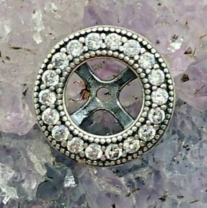 Pandora ALE P2 Sterling Silver Button or Bead 0.8 Grams