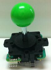 Japan Sanwa Joystick Green Ball Top Arcade Parts JLF-TP-8Y-G