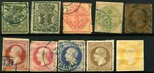 HANOVER Early GERMAN States Postage Stamps Collection 1851-1864 Used
