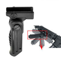Hot For Picatinny Rail Tactical Folding Foregrip Vertical Forward Fore Hand Grip