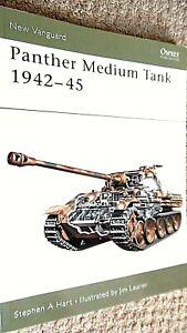 OSPREY NEW VANGUARD #67: PANTHER MEDIUM TANK 1942-45 / Stephen A Hart (2003)