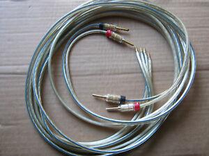 Oehlbach Lautsprecherkabel - Länge je 2,50 m und 2,85 m -2x4qmm type 1020