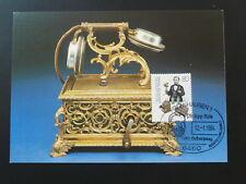postal history telephone telecommunications maximum card Germany ref 802-05