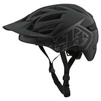 Troy Lee Designs 2020 A1 MTB Helmet Drone Black/Silver All Sizes