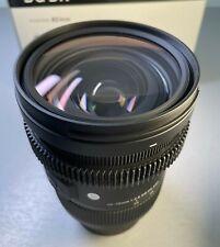 Sigma 24-70mm F2.8 DG DN Art Lens (L Mount)