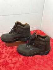 Women's Leather Ram Rocky Boots size 8  Lace up VGUC